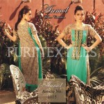 Puri Textiles Latest Embroidered Winter Dresses 2014 For Women (5)