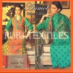 Puri Textiles Latest Embroidered Winter Dresses 2014 For Women (8)