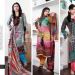 Puri Textiles Latest Embroidered Winter Dresses 2014 For Women (9)