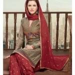 Ready to Wear Cotton Patiala Suits 2014 for Women 2