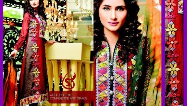 Salam's Textile Stylish Winter Wear Collection 2014 For Women (1)