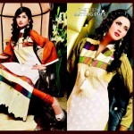 Salam's Textile Stylish Winter Wear Collection 2014 For Women (2)