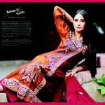 Salam's Textile Stylish Winter Wear Collection 2014 For Women (5)