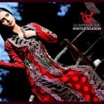 Salam's Textile Stylish Winter Wear Collection 2014 For Women (8)