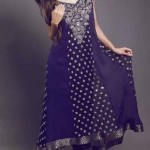 Sanober Siddiq Latest Party wear Winter Dress Collection 2014-15 For Women (7)