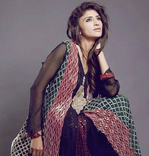 Sanober Siddiq Latest Party wear Winter Dress Collection 2014-15 For Women (8)