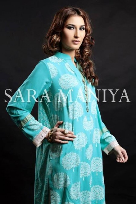 Sara Maniya Latest Casual Wear Winter Dress 2014 For Winter (1)