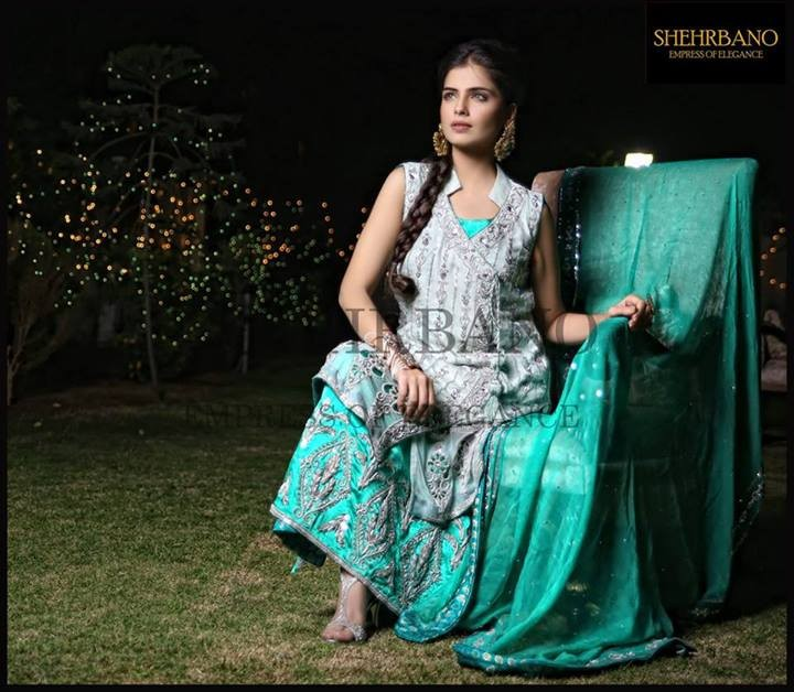 Shehrbano Latest Bridal Dresses 2014 002