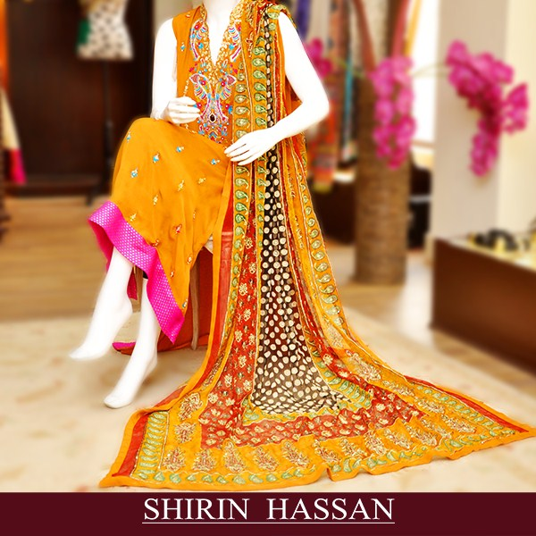 Shirin Hassan Winter Dresses 2014 001