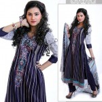 Stylish Winter Wear Dress Collection 2014 For Women By Ghani Textile (4)