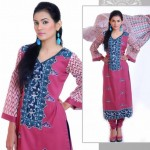 Stylish Winter Wear Dress Collection 2014 For Women By Ghani Textile (5)