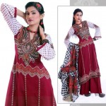 Stylish Winter Wear Dress Collection 2014 For Women By Ghani Textile (6)
