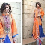 Subhata Designer Embroidered Linen Winter 2014 Collection For Women (5)