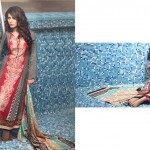 Subhata Designer Embroidered Linen Winter 2014 Collection For Women (9)