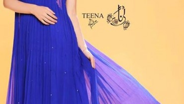 Teena by Hina Butt Party Wear 2014 001
