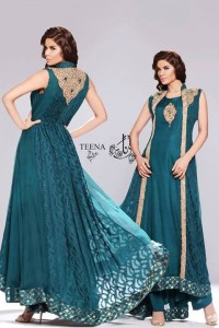 Teena by Hina Butt Party Wear 2014 003