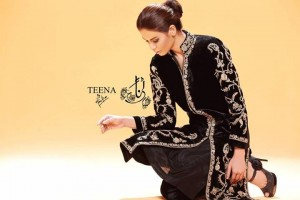 Teena by Hina Butt Party Wear 2014 004