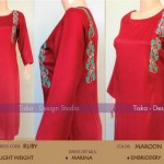 Tiska Beautiful Dresses Winter Collection 2014-15 For Women (4)