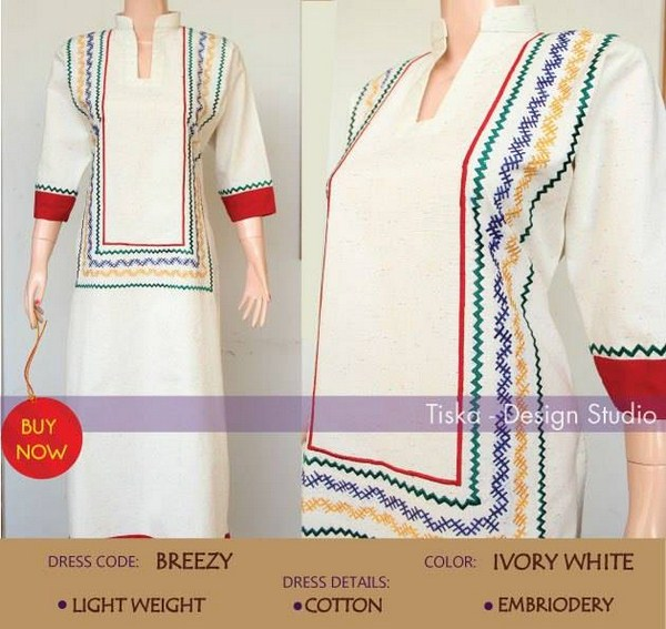Tiska Beautiful Dresses Winter Collection 2014-15 For Women (6)