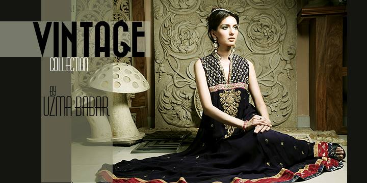 Umsha by Uzma Babar Vintage Spring Collection 2014 for Women 2