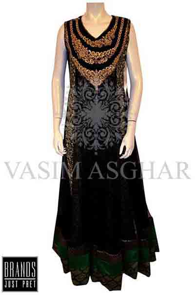 Vasim Asghar Party Wear Collection 2014 001