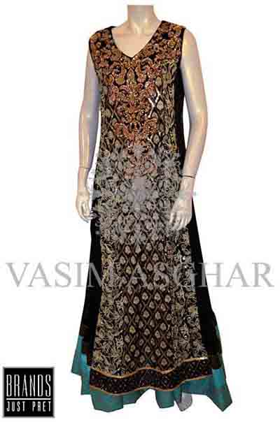 Vasim Asghar Party Wear Collection 2014 004