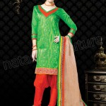 Vibrant Cotton Suits Semi Stitched Collection 2014 for Women 2