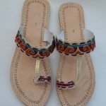 Zari Khussa Mahal Kolhapuri Women Shoes Collection 2