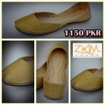 Zari Khussa Mahal Kolhapuri Women Shoes Collection 7