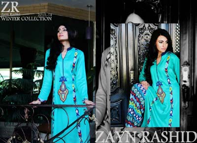 Zayn Rashid New Designs Casual Wear Collection 2014 001
