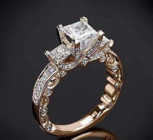 Attractive Diamond Rings Collection 2014 001