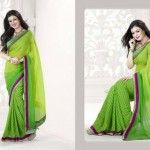 Ayesha Takia Valentine Day Sarees Collection 2014 for Women 1