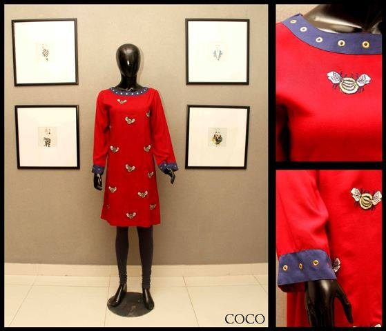 Coco Valentine Dress Collection 2014 for Women