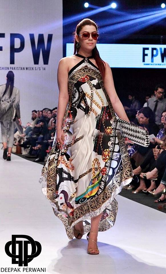 Deepak Perwani Pret Wear Pakistan Fashion Week Collection 2014 3