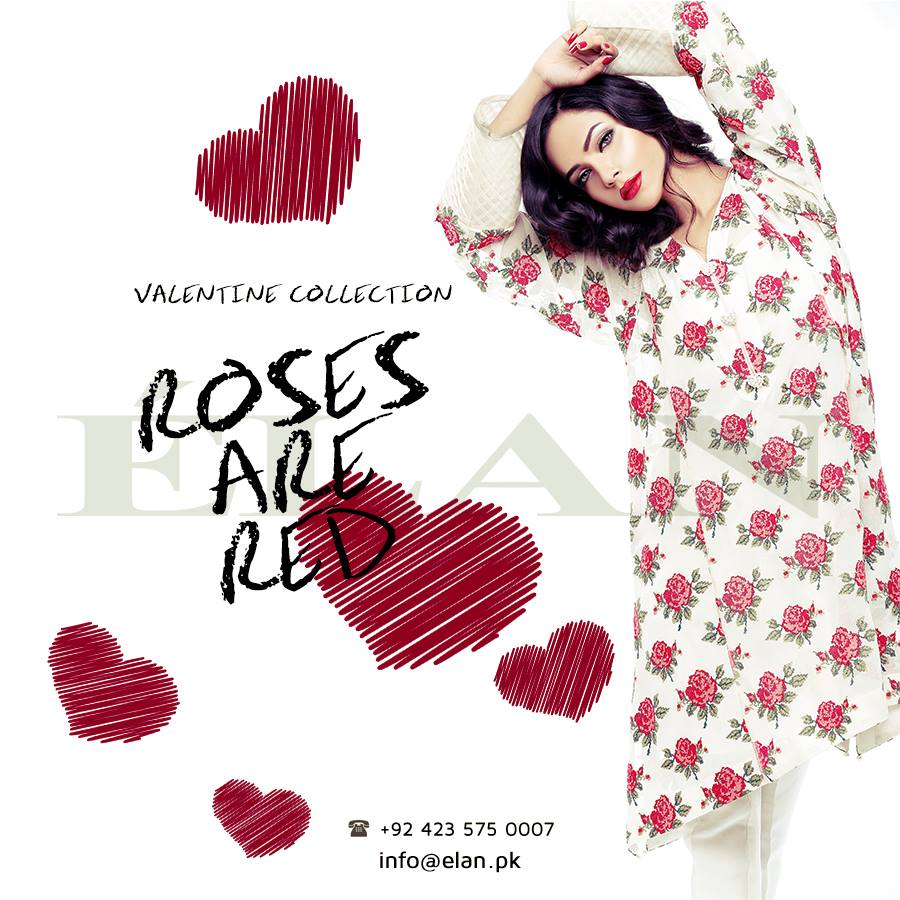 Elan Latest Valentine Day loving Dresses 2014 001