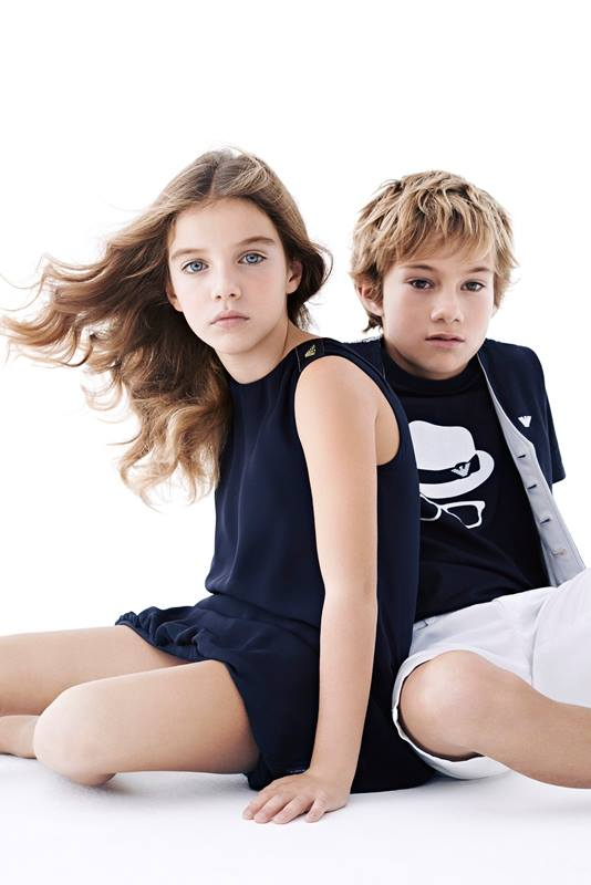 Emporio Armani Kids Wear Autumn Winter 2014-2015 4