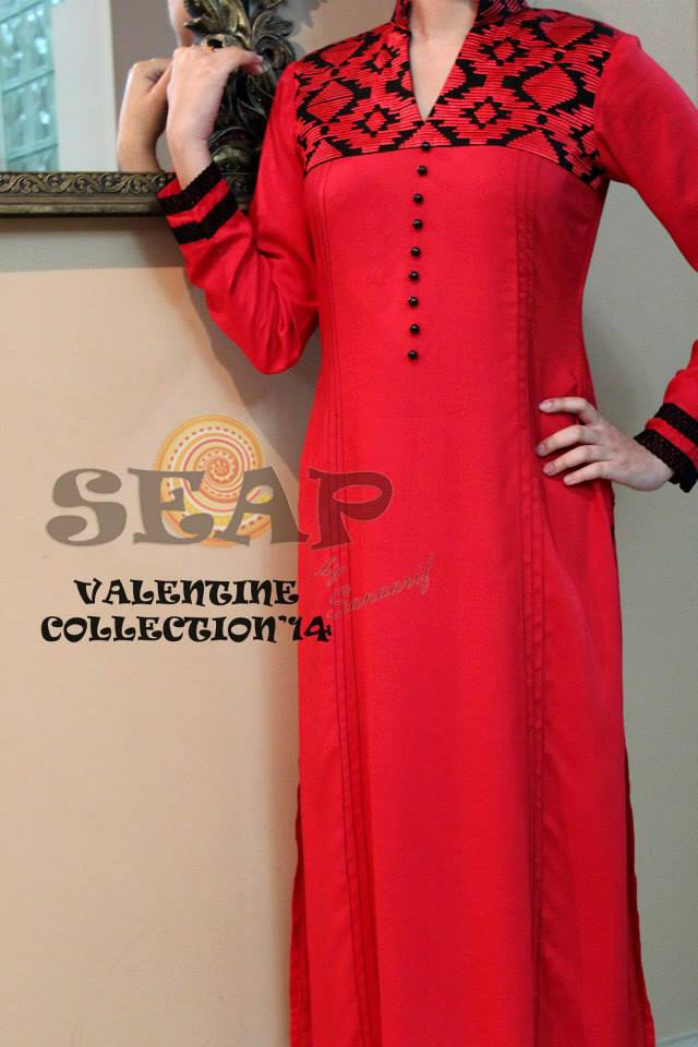 Exclusive Women Wear Valentine Day Collection 2014 by SEAP