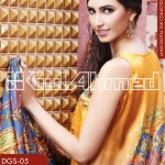Gul Ahmed Lamis Digital Silk Collection 2014 for Women 1