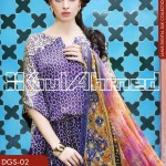 Gul Ahmed Lamis Digital Silk Collection 2014 for Women 5