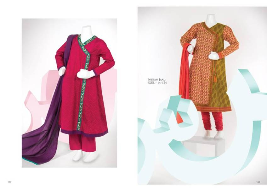 Junaid Jamshed Summer Dress Collection 2014 For Kids (1)