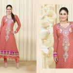 Kareena Kapoor Anarkali Suits Vol-3 Collection 2014 for Girls 2