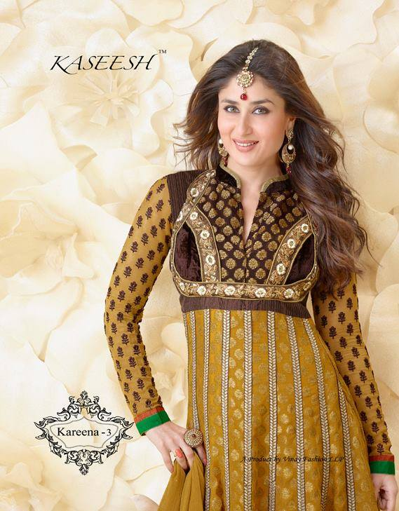 Kareena Kapoor Anarkali Suits Vol-3 Collection 2014 for Girls