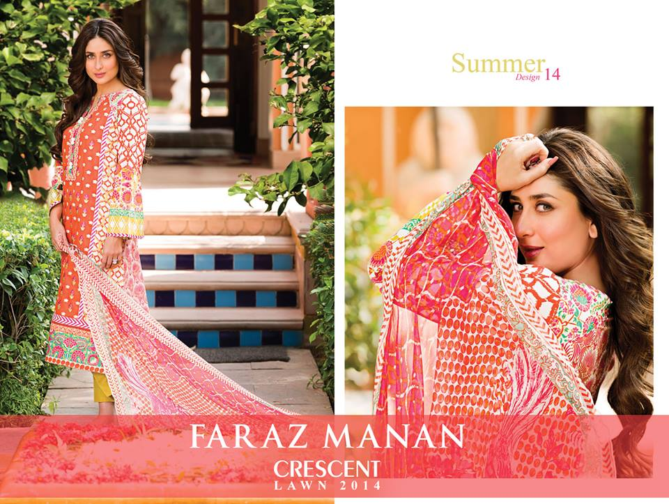 Kareena-Kapoor-in-Faraz-Manan's-Crescent-Lawn-Collection-2014-1