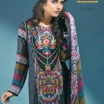Latest Alishan Krinkel Spring Dresses Collection 2014 009