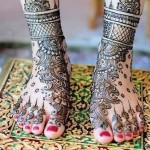 Latest Henna Foot Mehndi Designs For Girls 2014 003