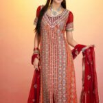 Latest Party Wear Fashionable Dress Collection For Girls (1)