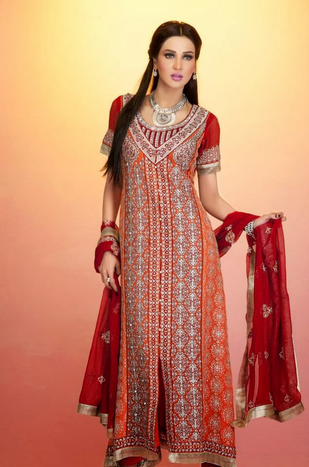 Latest Summer Party Wear Outfits Collection 2015 By Ramsha Fashion