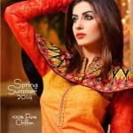 Latest Spring Dawood Collection 2014 005