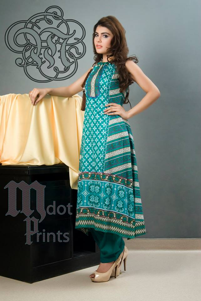 Latest Summer Lawn Dresses 2014 For Women By Mallal Designer (6)