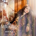 MARIA.B. Mbroidered Silk Chiffon Collection 2014 for Women